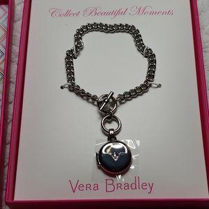 NWT!!! Vera Bradley Toggle Locket Bracelet!!!